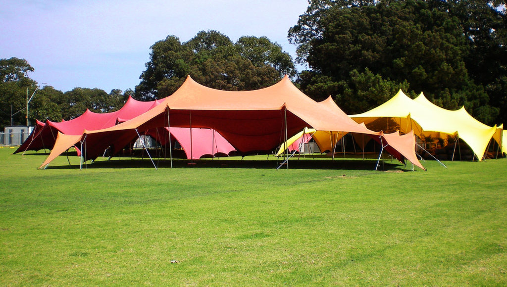 & Bedouin Stretch Tents - Tent Hire Sydney