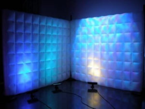 Illuminated Inflatable Wall