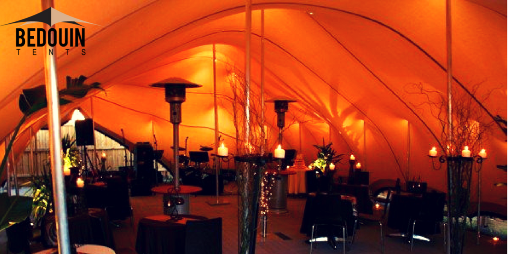Wedding Tent with Deco and Accessories