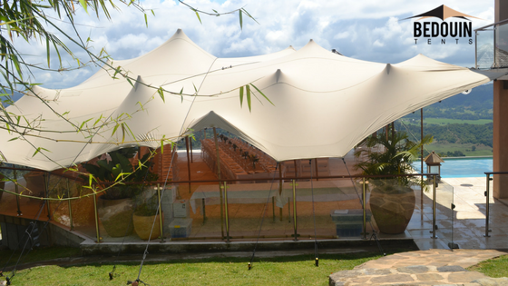 Large Sand Bedouin Tent