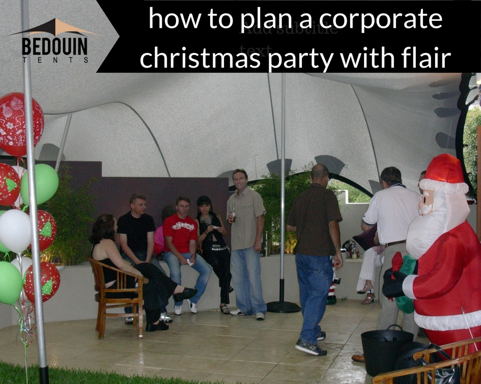 How To Plan A Corporate Christmas Party With Flair