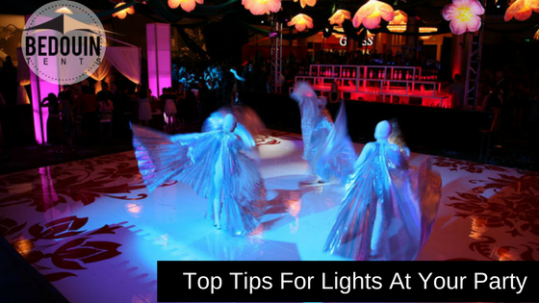 Top tips for lights at your party