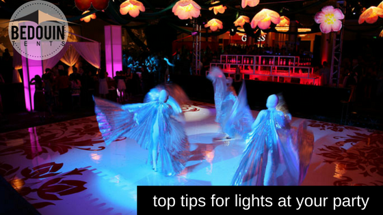 Top Tips for Lighting At Your Party