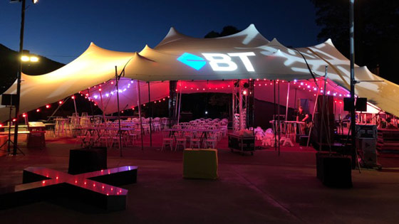 BT Stretch Tent at Mona-Tasmania
